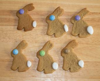 gingerbread bunnies