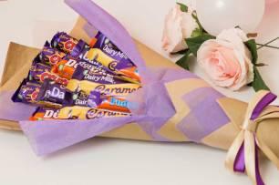 Purple-Chocolate-Bouquet-RoseHatSweets
